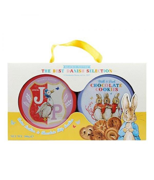 比得兔丹麥雙享餅乾禮盒Beatrix Potter Danish Selection Gift Box