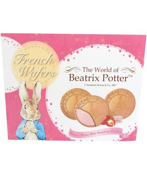 波特小姐草莓巧克力口味法式薄酥Beatrix Potter Strawberry Chocolate French Wafers