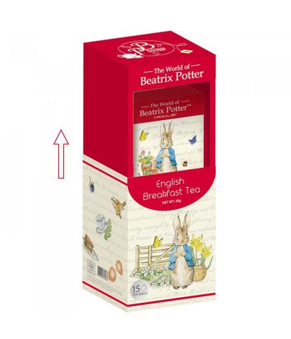 波特小姐早餐紅茶三角立體茶包 Beatrix Potter English Breakfast Tea Bag