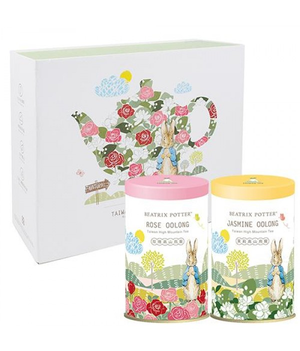 波特小姐高山烏龍窨花茶禮盒 Beatrix Potter Taiwan High Mountain Tea Gift Set