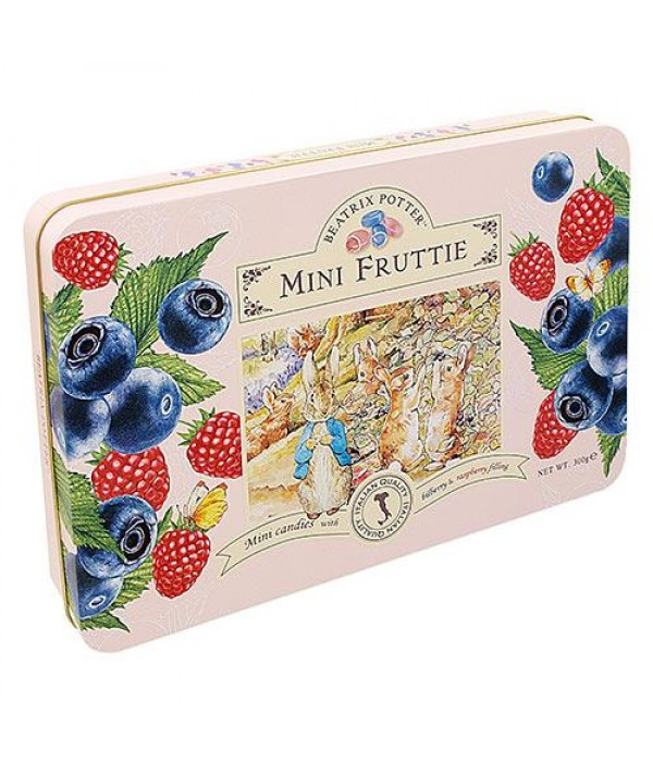 波特小姐意大利迷你莓果夾心糖禮盒Beatrix Potter Mini Fruttie-Bilberry &Raspberry Filling