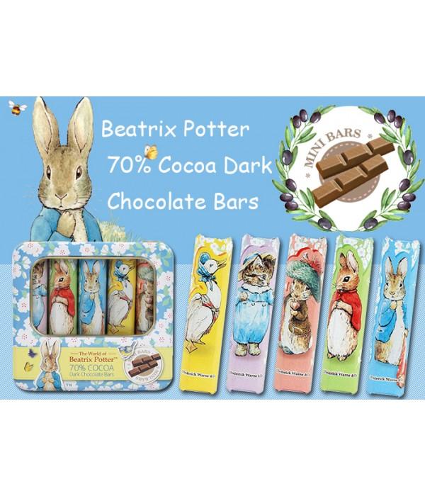 波特小姐70%黑朱古力棒Beatrix Potter70 % Dark Chocolate Bars