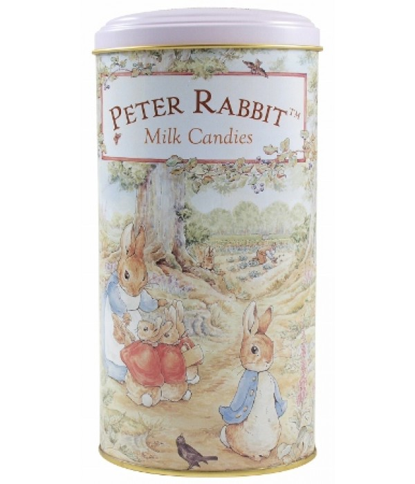 比得兔焦糖牛奶糖高罐裝Peter Rabbit Caramel Milk Candies (Tall Tin)