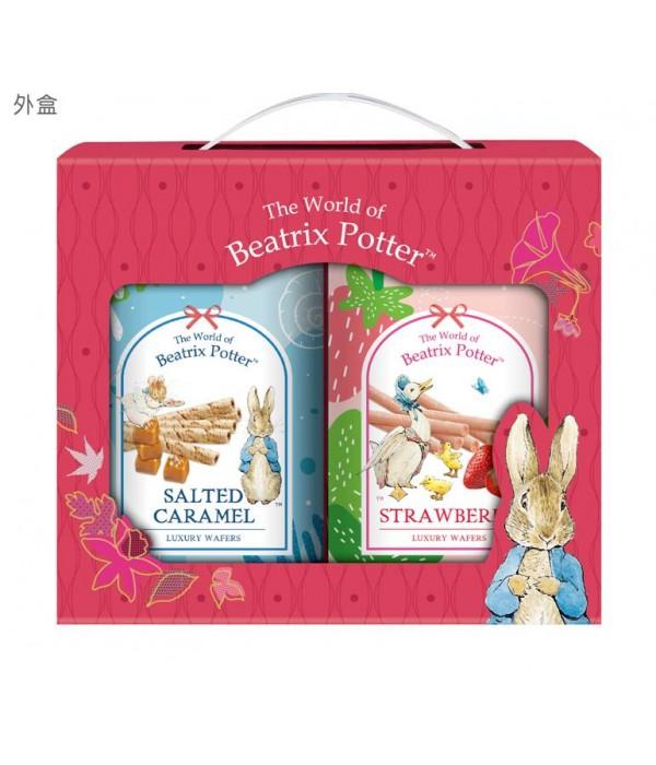 比得兔幸福雙享捲心酥禮盒Beatrix Potter Luxury Wafer Rolls Happiness Gift Set